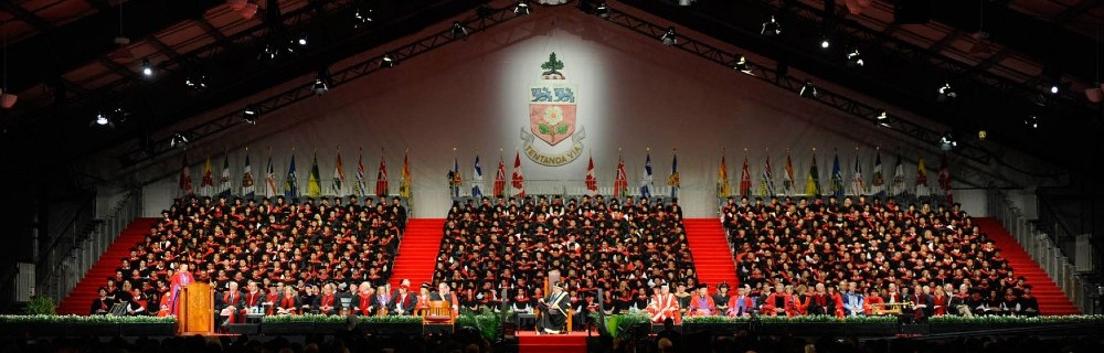 Convocation Crowd