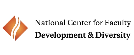 Logo for the National Center for Faculty Development and Diversity